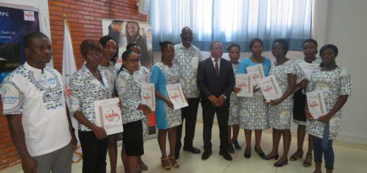 Cérémonie formation suivi évaluation evalwomen